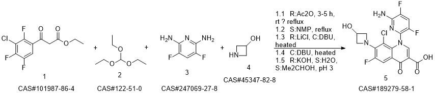 Delafloxacin | Hodoodo.com